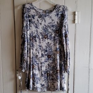 American Eagle Outfitters Open Shoulder Tunic
